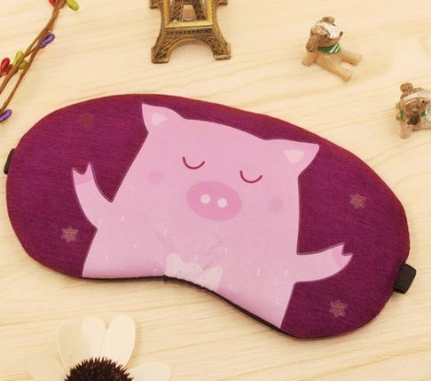 Маска для сна свинья