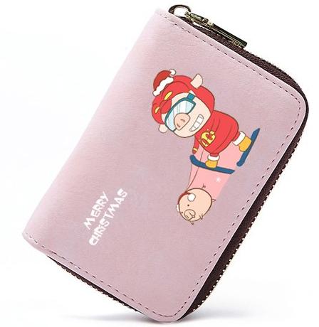 прикольный кошелёк со свиньёй