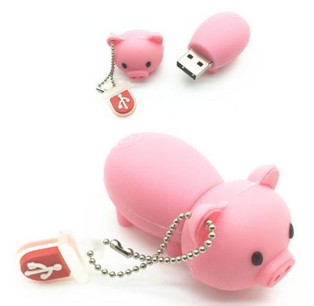флешка свинья